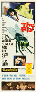 "Movie Posters:Science Fiction, The Fly (20th Century Fox, 1958). Insert (14"" X 36"").. ..."
