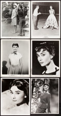 "Movie Posters:Miscellaneous, Audrey Hepburn Lot (Various, 1951-1963). Photos (8) (8"" X 10"")..... (Total: 8 Items)"