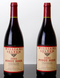 Domestic Pinot Noir, Williams Selyem Pinot Noir 2001 . Allen Vineyard. Bottle(2). ... (Total: 2 Btls. )