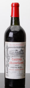 Red Bordeaux, Chateau l'Eglise Clinet 1958 . Pomerol. ts, lbsl, sdc,Belgian bottling. Bottle (1). ... (Total: 1 Btl. )