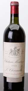 Red Bordeaux, Chateau Montrose 1934 . St. Estephe. bn, lbsl, sdc, excellent color. Bottle (1). ... (Total: 1 Btl. )
