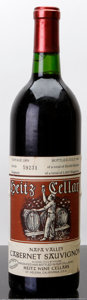 Domestic Cabernet Sauvignon/Meritage, Heitz Cellars Cabernet Sauvignon 1979 . Martha's Vineyard.lscl, lwisl. Bottle (1). ... (Total: 1 Btl. )