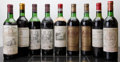 Red Bordeaux, Chateau Batailley . 1970 Pauillac 2hs, 1ll, 1scl Bottle (2).Chateau Corbin Michotte . 1975 St. Emilion ... (Total: 9Btls. )