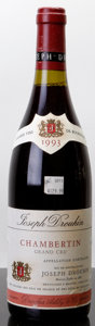 Red Burgundy, Chambertin 1993 . J. Drouhin . Bottle (1). ... (Total: 1Btl. )