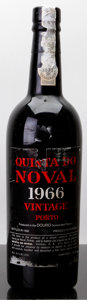 Port/Madeira/Misc Dessert, Quinta do Noval Vintage Port 1966 . tal. Bottle (1). ... (Total: 1Btl. )