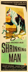 "Movie Posters:Science Fiction, The Incredible Shrinking Man (Universal International, 1957).Insert (14"" X 36"").. ..."