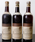 Italy, Barolo 1943 . Monfortino Riserva, G. Conterno . 2ts, 1vhs, 3lbsl, 1sdc, excellent color. Bottle (3). ... (Total: 3 Btls. )