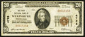 National Bank Notes:Pennsylvania, Wilkinsburg, PA - $20 1929 Ty. 1 The First NB Ch. # 4728. ...