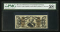 Fractional Currency:Third Issue, Fr. 1341 50¢ Third Issue Spinner Type II PMG Choice About Unc 58 EPQ.. ...