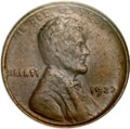 Lincoln Cents, 1922 No D 1C Strong Reverse AU55 NGC. CAC. FS-401....