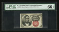 Fractional Currency:Fifth Issue, Fr. 1266 10¢ Fifth Issue PMG Gem Uncirculated 66 EPQ.. ...