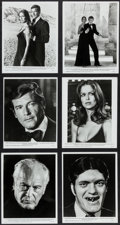 """Movie Posters:James Bond, The Spy Who Loved Me (United Artists, 1977). Photos (18) (8"""" X 10""""). James Bond.. ... (Total: 18 Items)"""