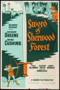 """Movie Posters:Adventure, Sword of Sherwood Forest (Columbia, 1960). Poster (40"""" X 60"""") SilkScreen Style. Adventure.. ..."""