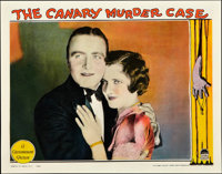 "The Canary Murder Case (Paramount, 1929). Lobby Card (11"" X 14""). Crime"