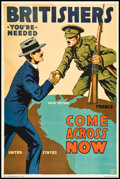 "Movie Posters:War, World War I Recruiting Poster (Albert Frank & Co., 1917).British Recruiting Poster (27.75"" X 41""). War.. ..."