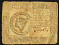 Colonial Notes:Continental Congress Issues, Continental Currency September 26, 1778 $8 Fine.. ...