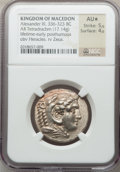 Ancients:Greek, Ancients: MACEDONIAN KINGDOM. Alexander III the Great (336-323 BC).AR tetradrachm (17.14 gm)....