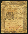 Colonial Notes:Pennsylvania, Pennsylvania April 25, 1776 18d Fine.. ...