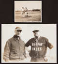 Baseball Collectibles:Photos, Circa 1930's Babe Ruth and Lou Gehrig Vintage Photographs Lot of2....
