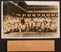 Baseball Collectibles:Photos, 1933 Major League Baseball Inaugural All Star Game OriginalPhotograph....