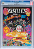 Magazines:Miscellaneous, Marvel Comics Super Special #4 The Beatles (Marvel, 1978) CGC NM+9.6 White pages....