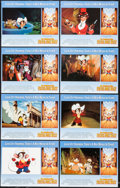 "Movie Posters:Animation, An American Tail: Fievel Goes West (Universal, 1991). Lobby Card Set of 8 (11"" X 14""). Animation.. ... (Total: 8 Items)"