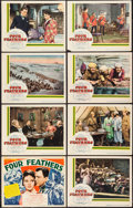 "Movie Posters:Action, Four Feathers (United Artists, 1939). Lobby Card Set of 8 (11"" X14""). Action.. ... (Total: 8 Items)"