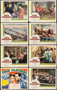 "Four Feathers (United Artists, 1939). Lobby Card Set of 8 (11"" X 14""). Action. ... (Total: 8 Items)"