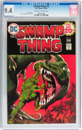 Bronze Age (1970-1979):Horror, Swamp Thing #12 (DC, 1974) CGC NM 9.4 Off-white to white pages....