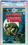 Bronze Age (1970-1979):Horror, Swamp Thing #20 (DC, 1976) CGC NM+ 9.6 Off-white to white pages....