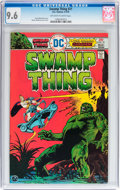 Bronze Age (1970-1979):Horror, Swamp Thing #21 (DC, 1976) CGC NM+ 9.6 Off-white to white pages....