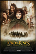 """Movie Posters:Fantasy, The Lord of the Rings: The Fellowship of the Ring (New Line, 2001).One Sheet (27"""" X 40"""") DS Advance Style D. Fantasy.. ..."""