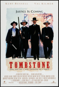"Tombstone (Buena Vista, 1993). International One Sheet (27"" X 40"") DS. Western"