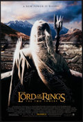 "Movie Posters:Fantasy, The Lord of the Rings: The Two Towers (New Line, 2002). One Sheet(27"" X 40"") DS Saruman Back Style. Fantasy.. ..."