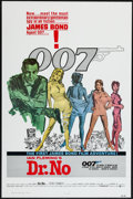 "Movie Posters:James Bond, Dr. No (United Artists, R-1980). One Sheet (27"" X 41"") Flat Folded.James Bond.. ..."