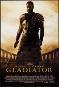 "Movie Posters:Action, Gladiator (Universal, 2000). One Sheets (2) (27"" X 41"") DS Advance& Regular. Action.. ... (Total: 2 Items)"