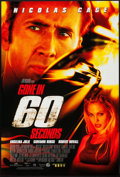 """Movie Posters:Action, Gone in 60 Seconds (Buena Vista, 2000). One Sheet (27"""" X 40""""). DS.Action.. ..."""
