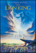 "Movie Posters:Animation, The Lion King (Buena Vista, 1994). One Sheet (27"" X 40""). DS Advance. Animation.. ..."