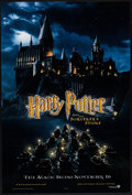 "Movie Posters:Fantasy, Harry Potter and the Sorcerer's Stone (Warner Brothers, 2001). OneSheet (27"" X 40""). DS Advance. Fantasy.. ..."
