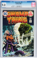 Bronze Age (1970-1979):Horror, Swamp Thing CGC-Graded Group (DC, 1974-76).... (Total: 6 ComicBooks)