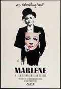 "Movie Posters:Documentary, Marlene (Alive Films, 1986). One Sheet (27"" X 40""). Documentary.. ..."