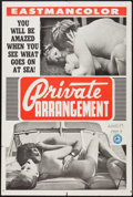 """Movie Posters:Adult, Private Arrangement (Mitam Productions, 1970). One Sheet (27"""" X 41""""). Adult.. ..."""