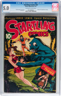 Golden Age (1938-1955):Science Fiction, Startling Comics #45 (Better Publications, 1947) CGC VG/FN 5.0Off-white to white pages....