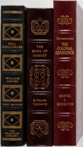 Books:World History, [History]. William Safire, Barbara Tuchman, and Daniel Boorstin. Group of Three Books Published by Easton Press/Franklin Libra... (Total: 3 Items)