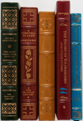 Books:Literature 1900-up, [Ernest Hemingway]. Group of Five Books Published by EastonPress/Franklin Library. Publisher's leather, some with shelfwear...(Total: 5 Items)