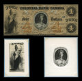 Canadian Currency: , Toronto, ONT- The Colonial Bank of Canada $4 June 9, 1859 Ch.130-10-02-08. ... (Total: 2 items)