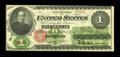 Large Size:Legal Tender Notes, Fr. 17a $1 1862 Legal Tender About New....