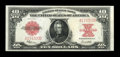 Large Size:Legal Tender Notes, Fr. 123 $10 1923 Legal Tender Choice About New....