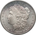 Morgan Dollars, 1879-S $1 Vam-43, Reverse of 1878 MS64 PCGS. Top-100. PCGSPopulation (3/0). . From The Parcfeld Collec...
