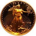 Modern Bullion Coins: , 1999-W G$5 Tenth-Ounce Gold Eagle PR70 Deep Cameo PCGS. PCGSPopulation (114). NGC Census: (444). Numismedia Wsl. Price fo...
